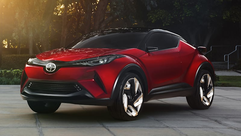 Toyota C-HR leaks online ahead of Geneva Motor Show