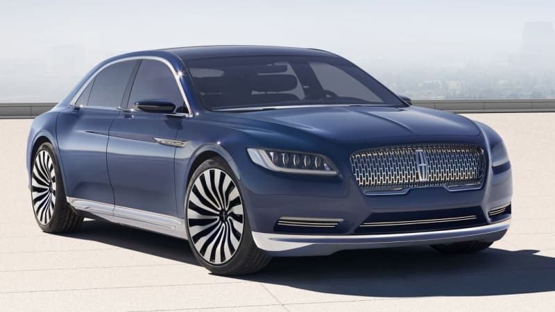 Lincoln Continental production likely to shift to Flat Rock