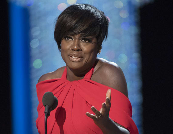 Viola Davis delivers emotional Oscars speech