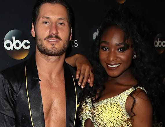 Val Chmerkovskiy's political joke on 'DWTS'