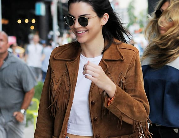 The shoes Kendall Jenner just wore are selling out