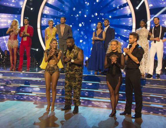 First couple booted from 'DWTS'