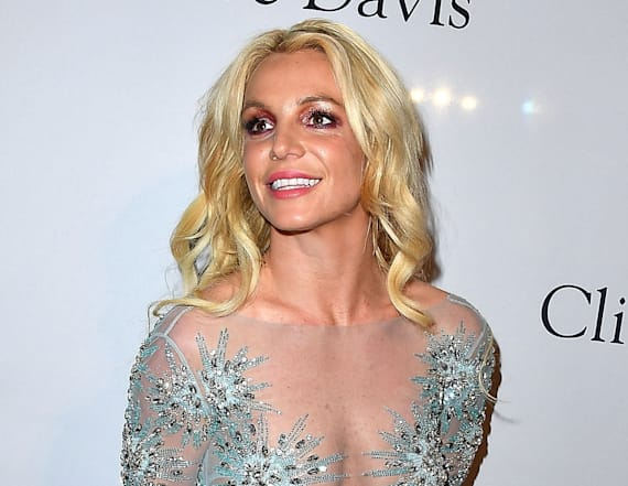 Where was Britney Spears at the GRAMMYs?