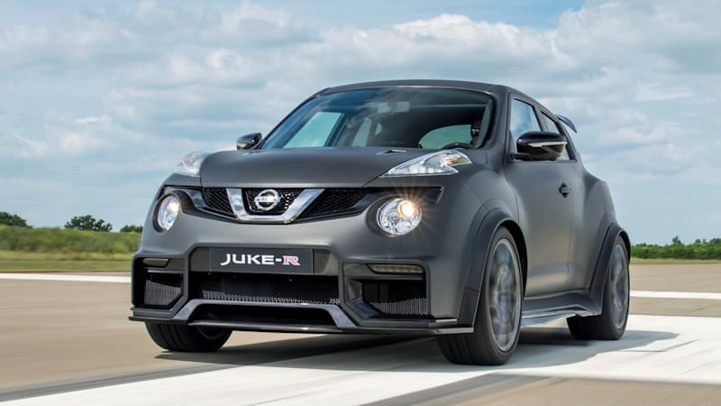 Nissan to build no more than 17 examples of Juke-R 2.0