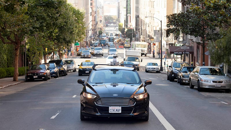 Ford invests in mapmaker for autonomous technology