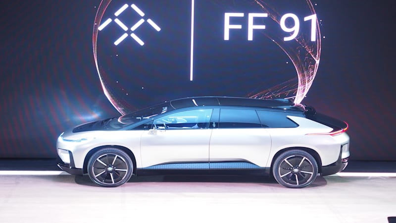 Continue Reading Faraday Future Reveals Ff91 Its New Production Intent Ev Originally Eared On