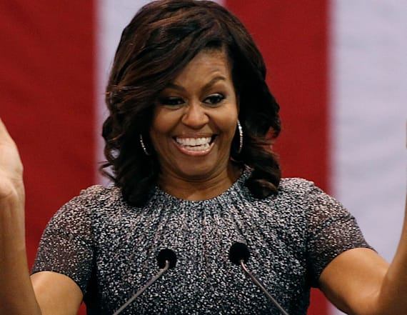 Michelle Obama keeps up with 'College Signing Day'