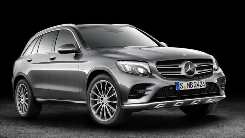 Mercedes-Benz GLC plug-in hydrogen fuel-cell coming in 2017
