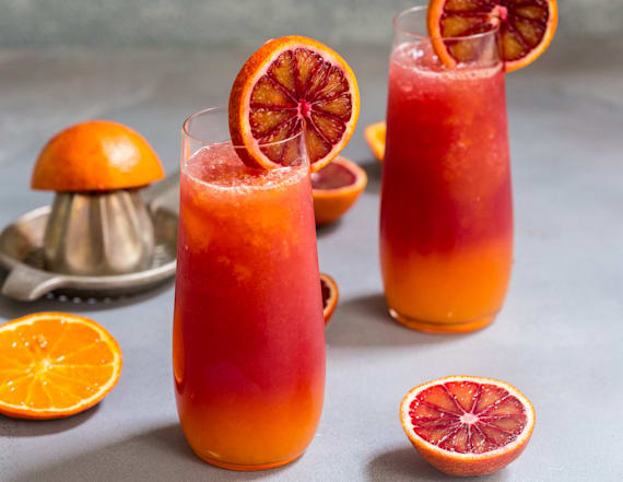 Cocktail of the week: Winter tequila sunrise