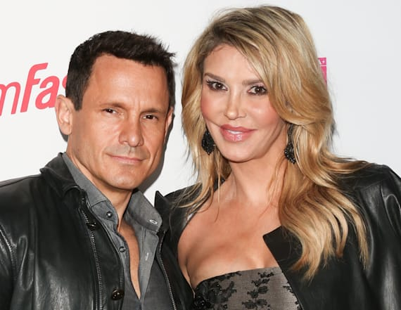 Brandi Glanville and new beau pose nude