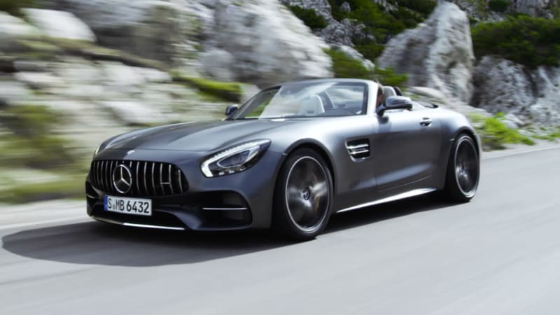 the mercedes amg gt goes soft top next fall autoblog. Black Bedroom Furniture Sets. Home Design Ideas