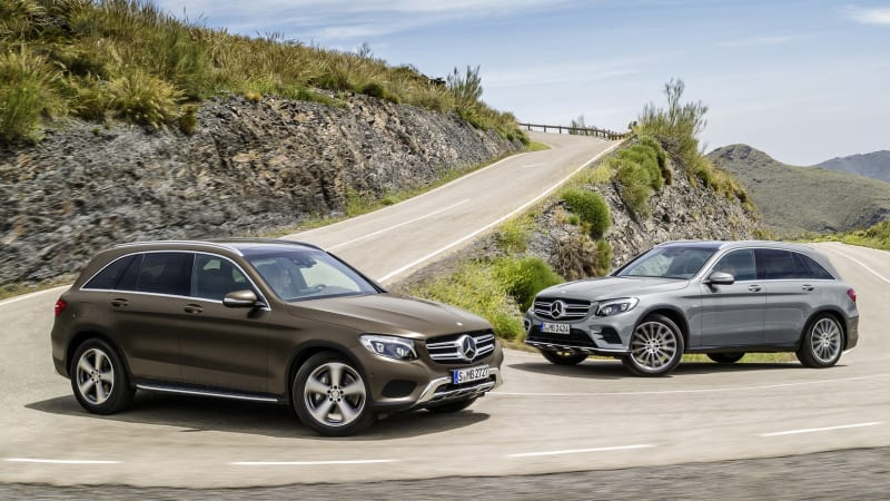 2016 mercedes benz glc one ups old glk in every way peachparts mercedes benz forum. Black Bedroom Furniture Sets. Home Design Ideas