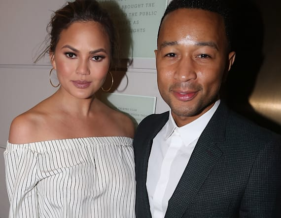 Chrissy and John Legend got to Broadway