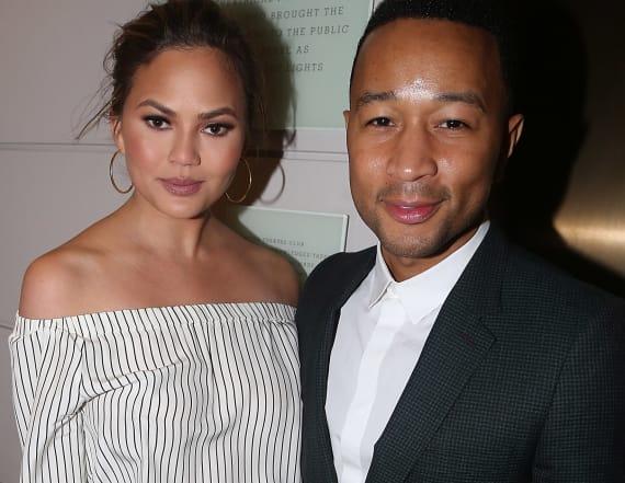 Chrissy and John Legend got to Broadway