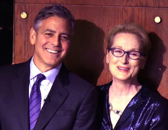 Clooney and De Niro speak out on Streep's speech