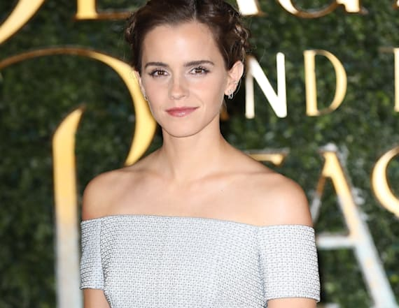 Emma Watson's hair steals the show at premiere