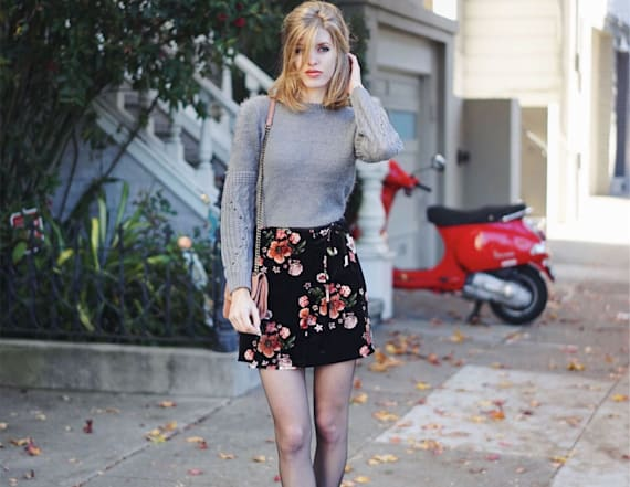 Street style tip of the day: Winter florals