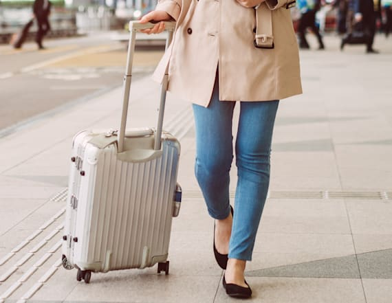Save over 60% on luxury luggage brand