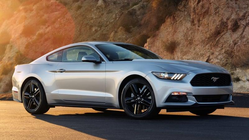 Pony-car sales war: Mustang vs. Camaro vs. Challenger [UPDATE]