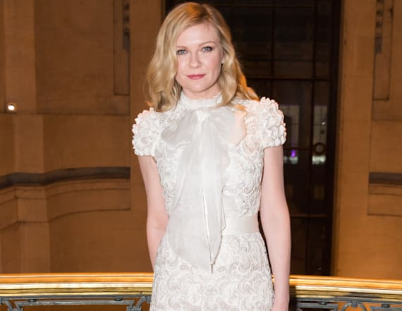 Kirsten Dunst wears the same dress from 13 years ago