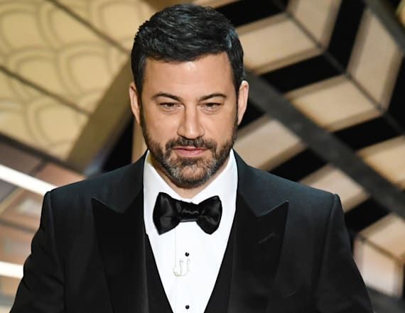 Did Jimmy Kimmel steal a joke at the Oscars?
