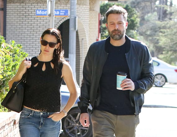 Jennifer Garner and Ben Affleck step out together