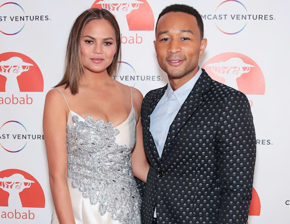 John Legend on watching movies with daughter