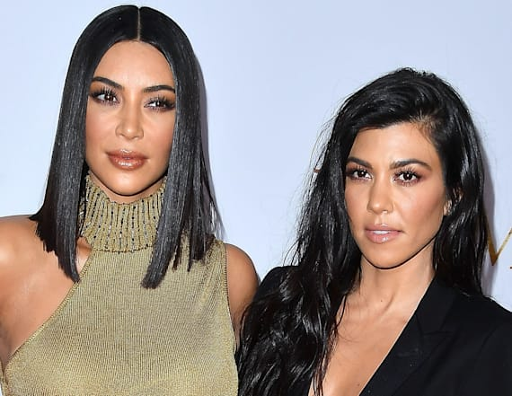 Kim and Kourtney flaunt incredible bikini bodies
