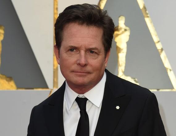 Michael J. Fox appears at 2017 Oscars