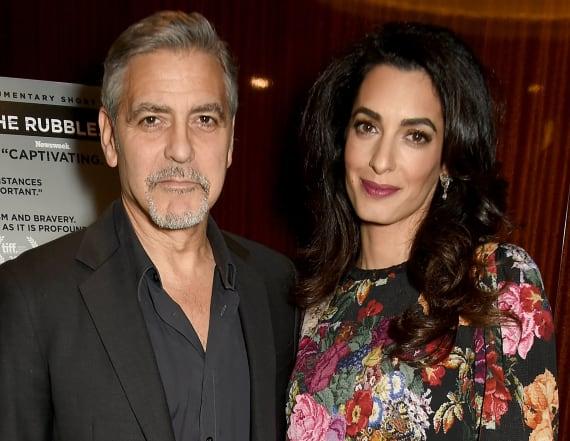 Amal Clooney dazzles in vintage Chanel