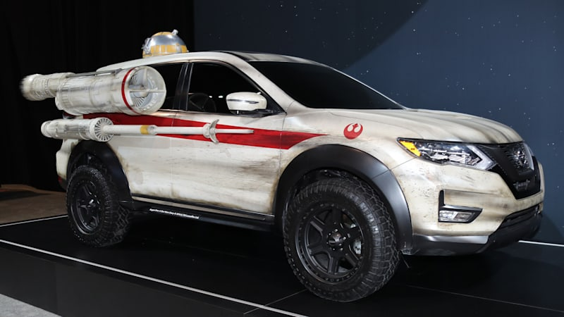 Nissan Continues Its Star Wars Lovefest With X-Wing