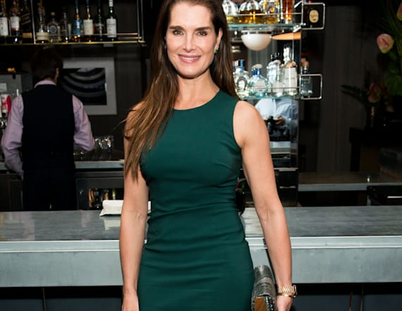 Brooke Shields defies age with bikini pic