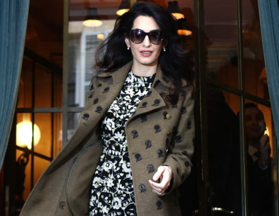 Channel your inner Amal Clooney with these dresses