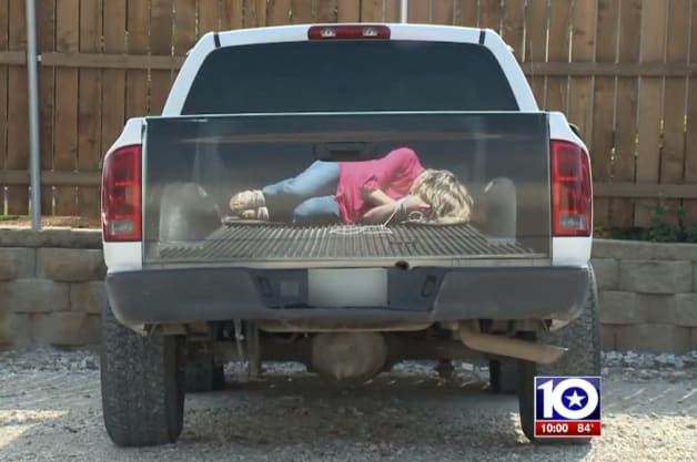 Sign Company Under Fire For Depicting Tied Up Woman On