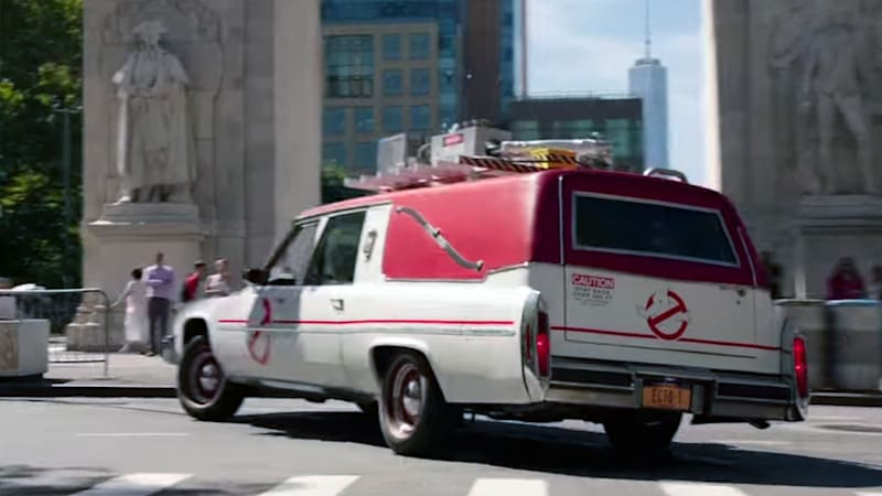 Ghostbusters Ecto 1 Detailed In Behind The Scenes Video
