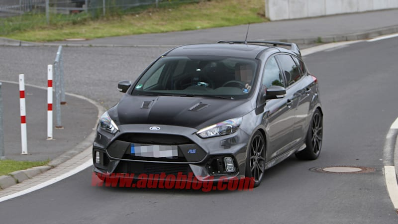 Next Ford Focus shows off telltale RS500 vented hood