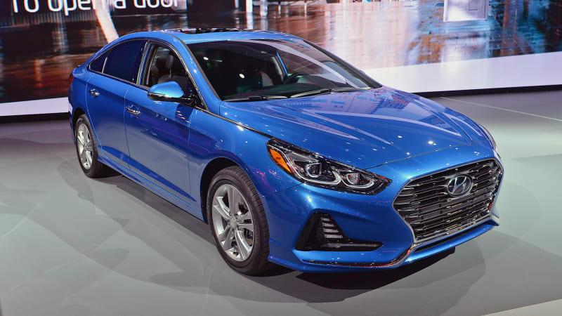 Hyundai returns to flashier design with 2018 Sonata   Kia