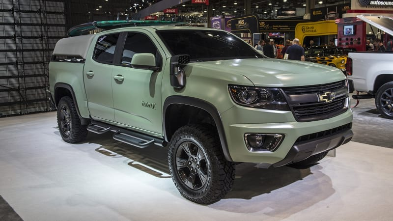 Chevy imagines the ultimate surf wagon with Colorado Z71 ...