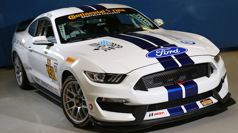 Ford Mustang Shelby GT350R-C set to storm Watkins Glen