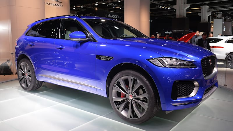 Frankfurt Motor Show Notes: Why Jaguar decided to build an SUV