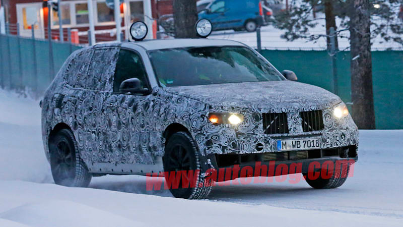 Next BMW X5 caught testing in the snow