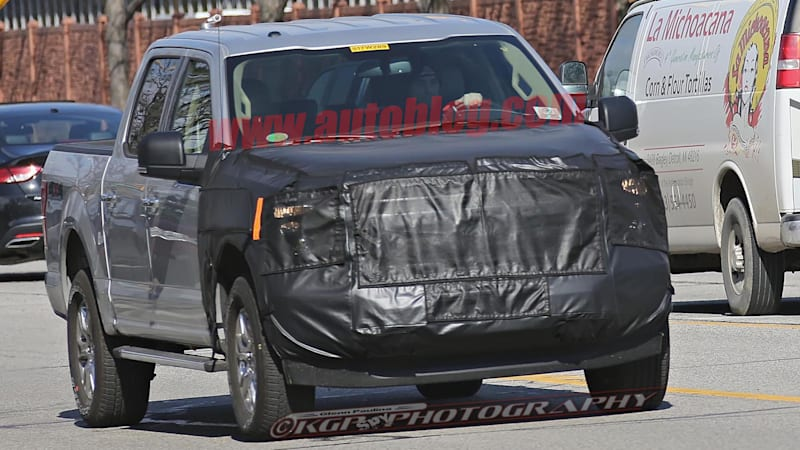 Updated Ford F-150 will get new front end to go with diesel engine