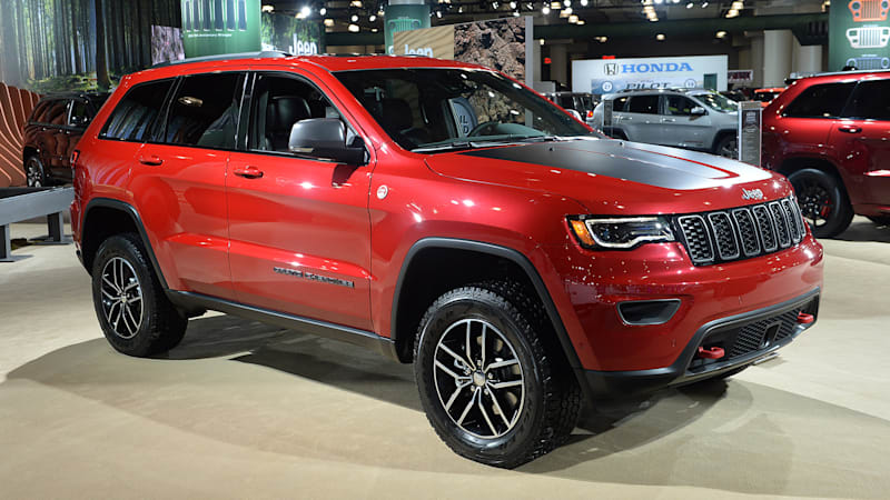 jeep grand cherokee trailhawk headlines 2017 model year updates. Black Bedroom Furniture Sets. Home Design Ideas