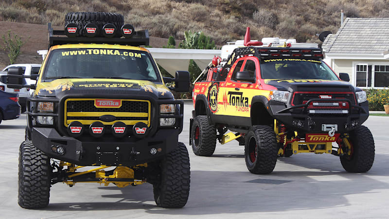 Driving a trio of real-life Tonka trucks [w/video]