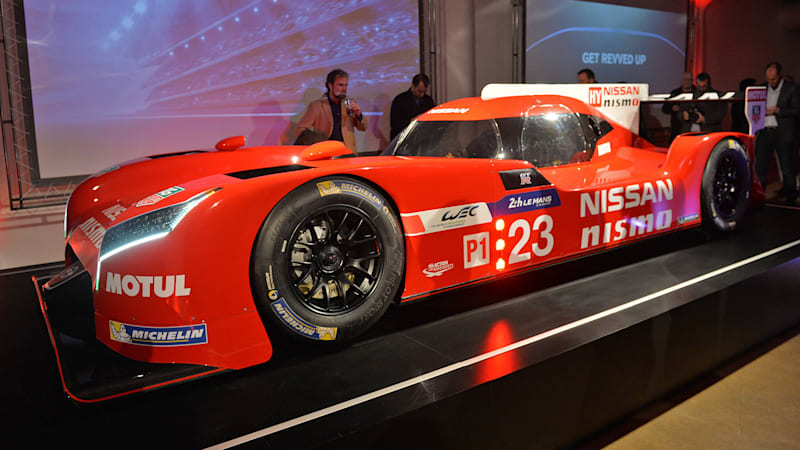 Nissan withdraws from two races to focus on Le Mans