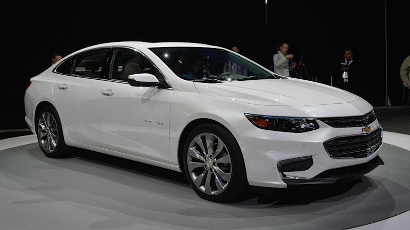 Chevrolet Malibu gets aggressive redesign for 2016 - Autoblog