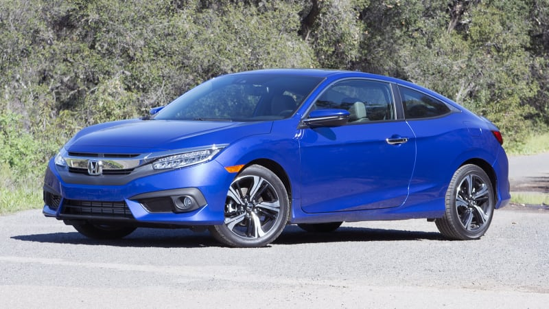 2016 Honda Civic Coupe starts at $19,885, Touring for $26,960