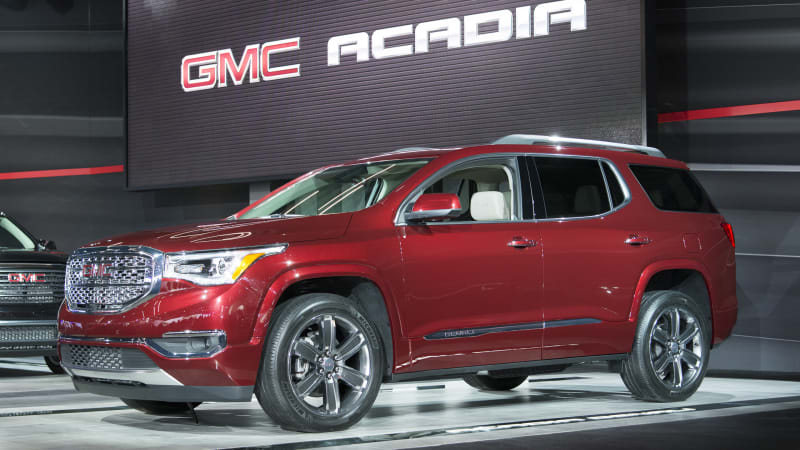 2017 gmc acadia starts at 29 995 autoblog. Black Bedroom Furniture Sets. Home Design Ideas