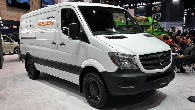 Mercedes-Benz Sprinter adds entry-level, $33,490 Worker trim
