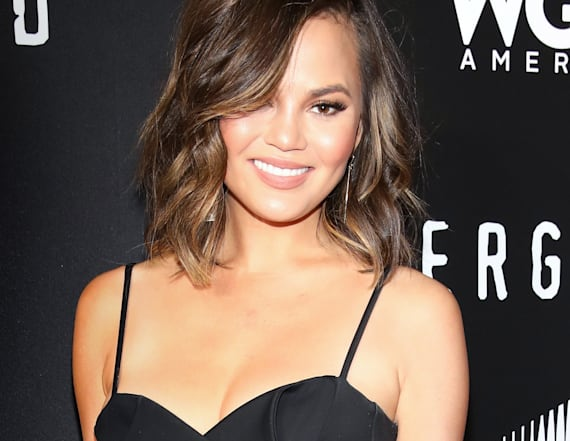 Chrissy Teigen vows to go topless on United flight